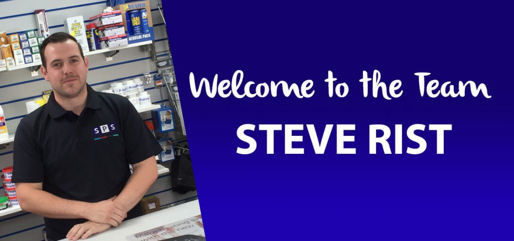 Welcome to the team - Steve Rist