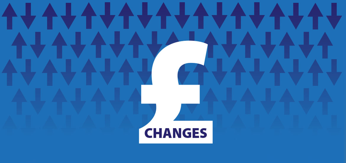 December 2020 – February 2021 Price Changes