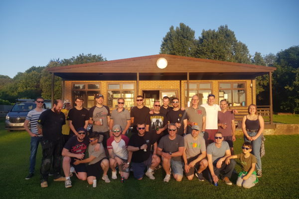 Cricket Group Photo