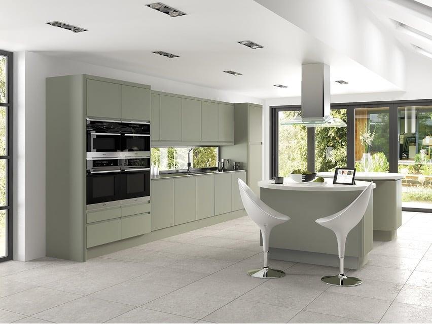 JJO Kitchens, Colonial - Integra Matt Deep Lichen