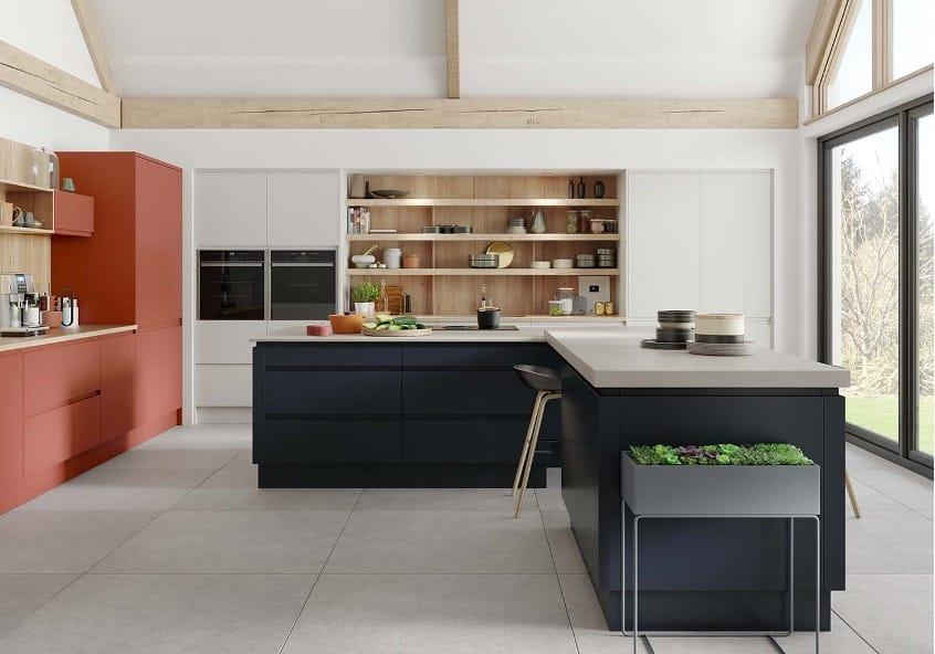 Masterclass, Roma - Silk Painted J Pull Kitchen